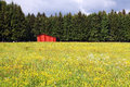 Red Barn Stock Photography - 41734632