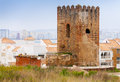 Ancient Brick Fortress Tower In Tangier, Morocco Royalty Free Stock Photos - 41738368