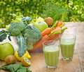 Green Smoothie (green Juice) Royalty Free Stock Photo - 41785825