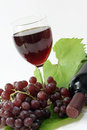 Glass Of Red Wine Royalty Free Stock Photo - 4187075