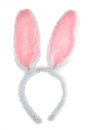 Easter Pink Bunny Ears Isolated On White . Royalty Free Stock Images - 41805169