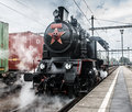 Steam Locomotive Royalty Free Stock Image - 41809476