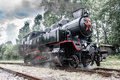 Steam Locomotive Stock Image - 41809631
