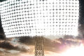Stadion Light In Dark Clouds Sunset Royalty Free Stock Image - 41812806