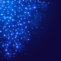 Stars On Blue Background Stock Images - 41816044