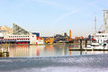 Baltimore Inner Harbor In Winter. Stock Image - 41822381