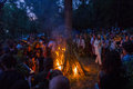 ZAPORIZHIA, UKRAINE-JUNE 21: Celebrating Kupala Night 21, 2014 I Stock Photography - 41849602