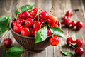 Sweet Cherry Royalty Free Stock Photography - 41855127