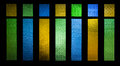 Bright And Colorful Texture From Stain Glass Door Stock Photo - 41855580