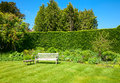 Garden Bench Royalty Free Stock Image - 41859896