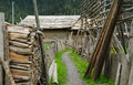 Alley In Zhagana Stock Image - 41865101