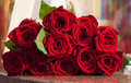 Large Red Rose Bouquet Stock Image - 41868341