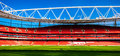 Pitch Side, The Emirates Stadium Royalty Free Stock Photography - 41873327