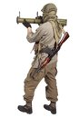 Mercenary With Anti-tank Rocket Launcher - RPG 26 Royalty Free Stock Photos - 41877908