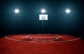Basketball Court Royalty Free Stock Photography - 41893927