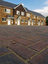 Row Of New Terraced Houses Stock Images - 4193934