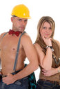 Construction Worker, Woman Stock Photo - 4199470
