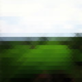 Green Landscape Triangle Background Royalty Free Stock Photography - 41900927