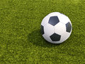 Soccer Ball On Grass Royalty Free Stock Images - 41921849