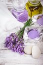 Spa With Lavender Stock Images - 41922224