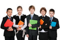 Group Of Students With Books Stock Image - 41922381
