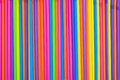 Drinking Straws As Colorful Background. Stock Image - 41923071
