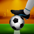 Soccer Ball And Cleats Stock Photography - 41924442
