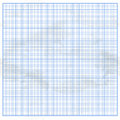 Crumpled Graph White Paper With Blue Cells Royalty Free Stock Image - 41925636