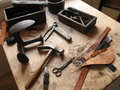 Old Shoemakers Workshop Royalty Free Stock Photography - 41928147