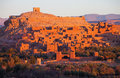 Ksar Of Ait-Ben-Haddou At Sunrise, Morocco. Stock Images - 41932134