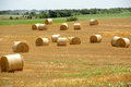 Amazing Golden Hay Bales Royalty Free Stock Photography - 41934207