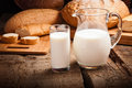 Jug With Milk Royalty Free Stock Image - 41936296