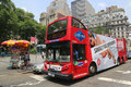 New York Sightseeing Hop On Hop Off Bus In Manhattan Royalty Free Stock Photo - 41937815