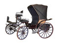 Carriage By Late 19th Century On White Royalty Free Stock Photo - 41940275