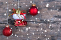 Snowy Christmas Background Royalty Free Stock Photo - 41943605