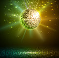 Disco Ball Background Stock Images - 41954464