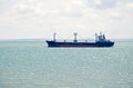Freighter In The Kerch Strait Royalty Free Stock Photo - 41982745
