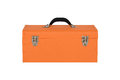 Orange Tool Box Royalty Free Stock Photography - 41984947