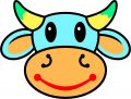 Happy Cow Royalty Free Stock Images - 428279