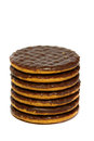 Chocolate Biscuits A Royalty Free Stock Photos - 42002278