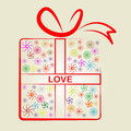 Love Gifts Means Wrapped Present And Surprises Royalty Free Stock Images - 42014729
