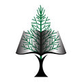 Tree Book Icon Royalty Free Stock Photography - 42031787