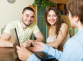 Couple Questionnaire For Social Worker Stock Images - 42035824