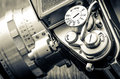 Detail Of Old Classic Camera Dials In Vintage Style Stock Image - 42038211