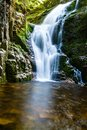 Poland. The Karkonosze National Park (biosphere Reserve) - Kamienczyk Waterfall Royalty Free Stock Photos - 42038418