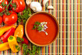 Fresh Tomato Soup Royalty Free Stock Photography - 42041527