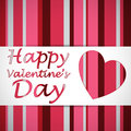 Happy Valentine Heart Card Royalty Free Stock Photo - 42055715