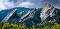 Incredible Flatiron Mountains Of Colorado In The Sun Royalty Free Stock Image - 42063976