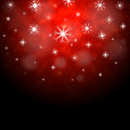 Snowflakes Red Background Means Winter Season Wallpaper Royalty Free Stock Photo - 42080525
