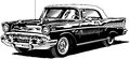 57 Chevy Royalty Free Stock Photography - 42099247